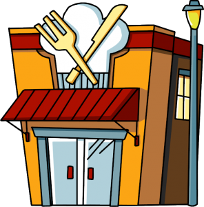 scribblenaughts restaurant 1