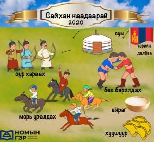 Mongolian Vocab Nomiin Ger Naadam