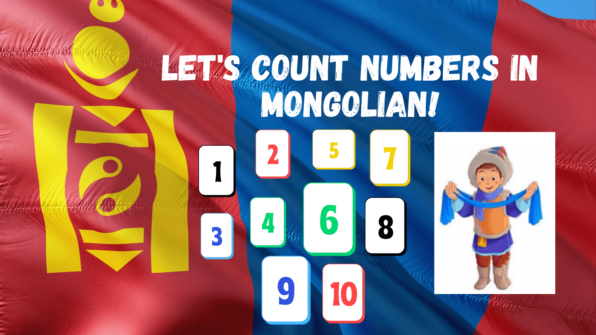 Numbers in Mongolian